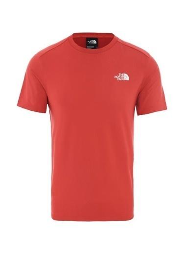 The North Face Lightning Erkek T-Shirt Kırmızı Kırmızı